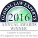 Global Law Experts 2016 Annual Award Winner